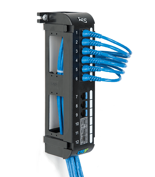 vertical patch panel